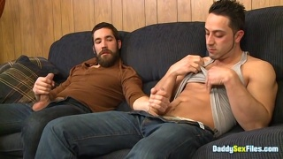 Hunk Fills His JO Buddy with His Hard Dripping Dick