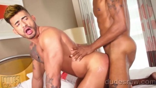 Tatted Latin Muscle Boy Gets His Beautiful Ass Fucked