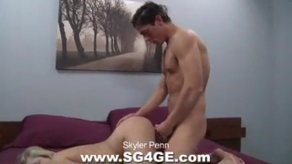 Skyler fucks a girl with fat cock