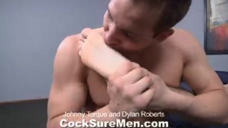 Dylan gets his bubble butt fucked