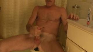 Daddy Jesse jerks off