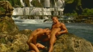 Two horny euro studs having sex