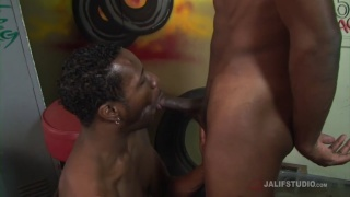 guys changing for a basketball game in locker room fuck instead