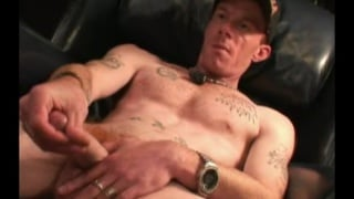 redneck from alabama strokes his long dick