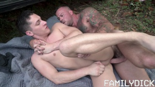muscle stepfather fucks his angst 19-year-old stepson