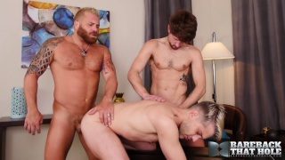 Show Time with Drew Dixon and Sherman Maus fuck for Riley Mitchel
