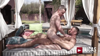 Daddy's Forbidden Lust with TOMAS BRAND fucking COLTON GREY