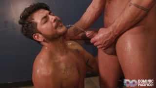 pissing & watersports play with sexy gay Latin men