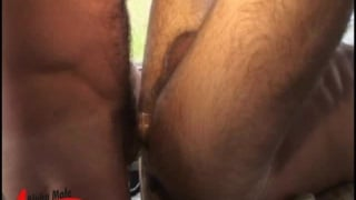 Hairy ass gets pounded