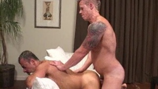 two muscle studs fuck raw