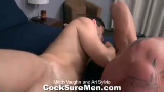 muscle hunks in 69 blowjob