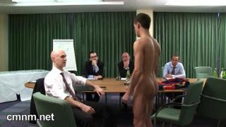 sportsman gets medical exam
