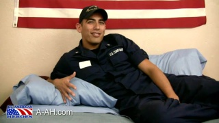 hunky hairy Coast Guard