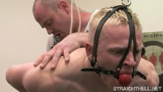 Thug gets spanked