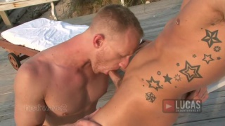 Blond Guy Beach Sex