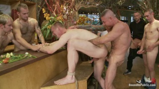 Guy Bound and Fucked