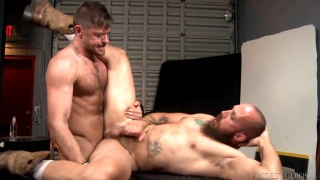 Jack Andy and Dustin Steele fuck each other