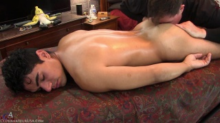 straight guy gets his ass smelled, licked and fingered