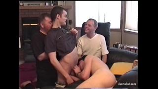 four guys decide to make a homemade porno
