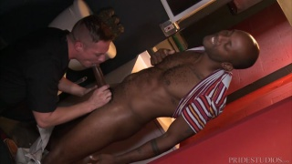 guy discovers a black dude stroking off in the washroom