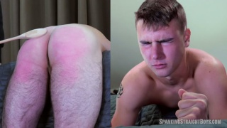 parker gets spanked for having a messy home