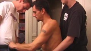 guys take turns sucking their buddy's cock