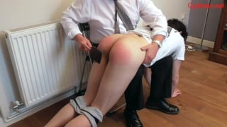 Straight Is Used to Spanking Women, Now It's His Turn