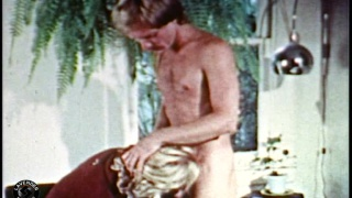 blond and muscle daddy vintage porn