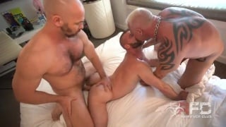 married couple pair up with two men for foursome