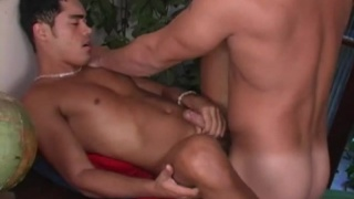 Huge Brazilian Cock serviced