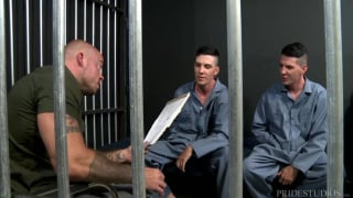 parole officer fucked by twin brothers in jail