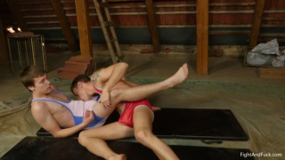 guys wrestling for top and bottom positions