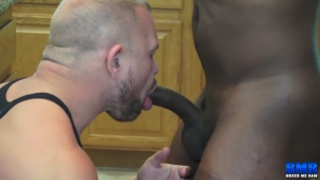 guy whips out his BBC & shoves it down this guy's throat