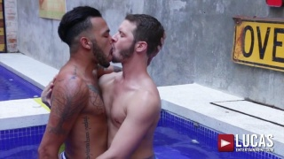 Inked Latin Lover Leaves this Bottom Begging for More