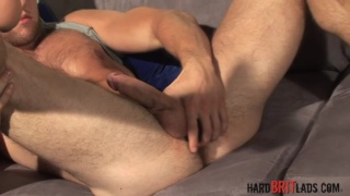 Hard Straight Muscle