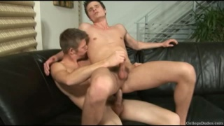 Carter and Brody fucking after college