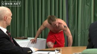 athlete gets medical inspection
