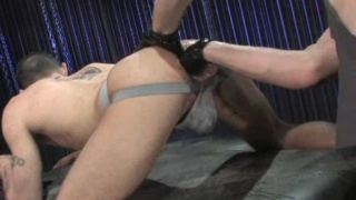 Ashley Ryder fist fucked by Caedon Chase