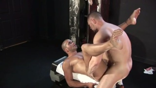Own and Diego having bareback fuck