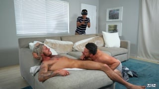 guy goes balls deep in this blond guy's ass