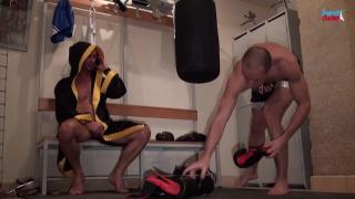 straight boxing teacher fucks his gay student's ass