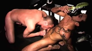 arab fucks a french lad in a darkroom session