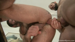 Dani Robles gets his ass fucked by Andy Onassis