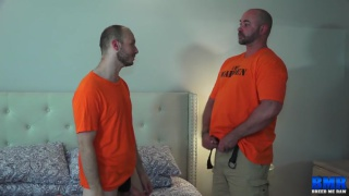 porn boy caught jerking off so daddy makes him pay