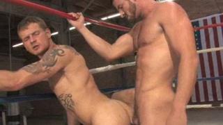 Hard boxers fuck ass