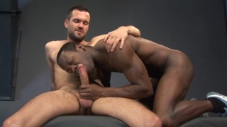 Hairy White Guy Fucking Handsome Black Stud