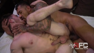 power bottom paired up with super hung porn legend