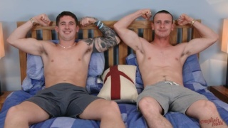 Straight Best Mates Wank Each Other