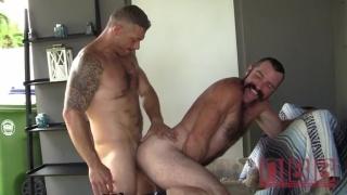 Versatile Horny Men Fucking Raw in Garage