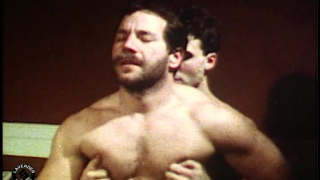 vintage flick with Hairy Muscle Daddy fucking raw